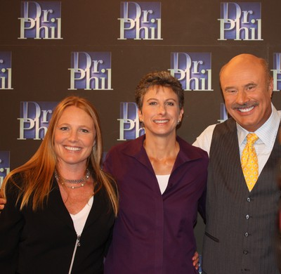 Amy Pulitzer, MA and Dr. Coleman with Dr. Phil